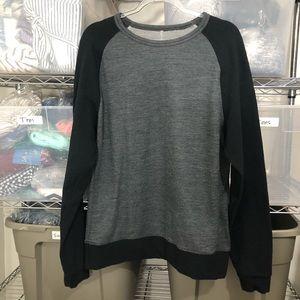 LULULEMON   men's baseball pullover sweater top L